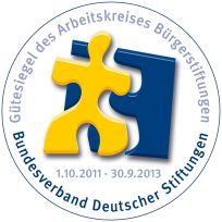 Bundesverband Deutscher Stiftungen: Gütesiegel des Arbeitskreises Bürgerstiftungen